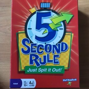 Other - 5 Second Rule Board game.